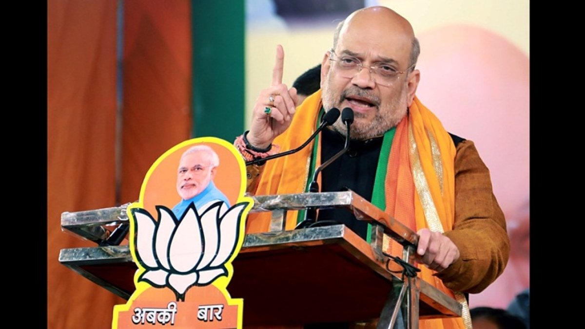 Delhi election 2020: Amid counting of votes, Amit Shah poster on 'victory' and 'defeat' surfaces in BJP office