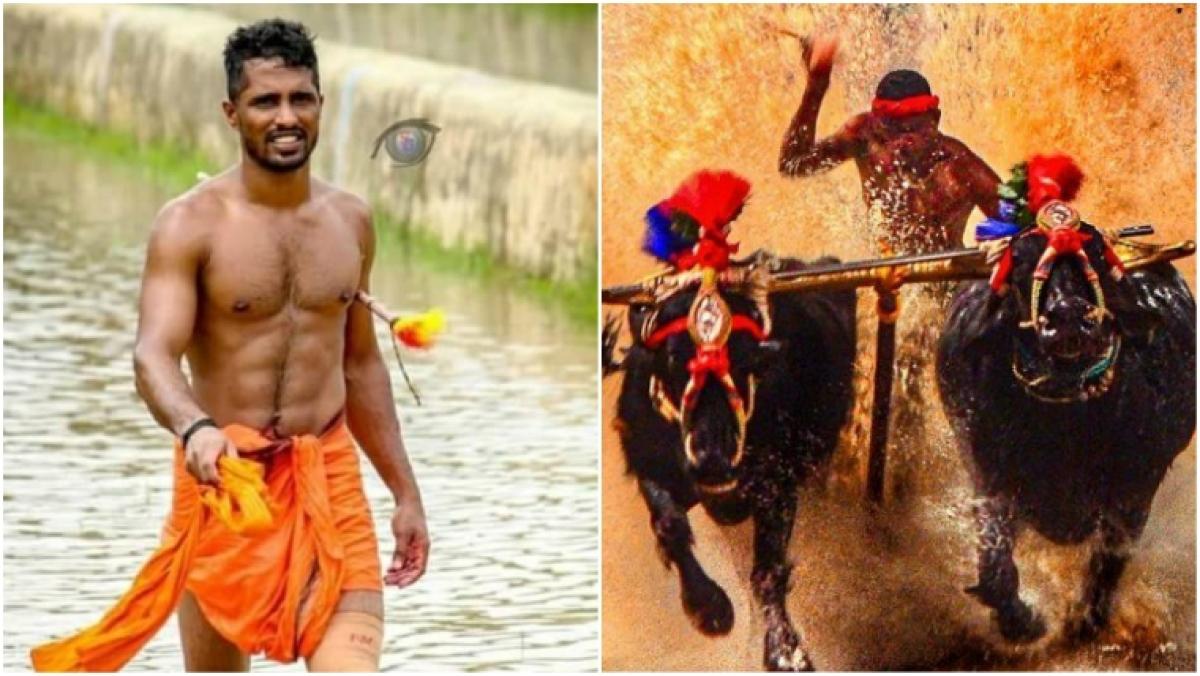 Kambala Jockey Nishant Shetty