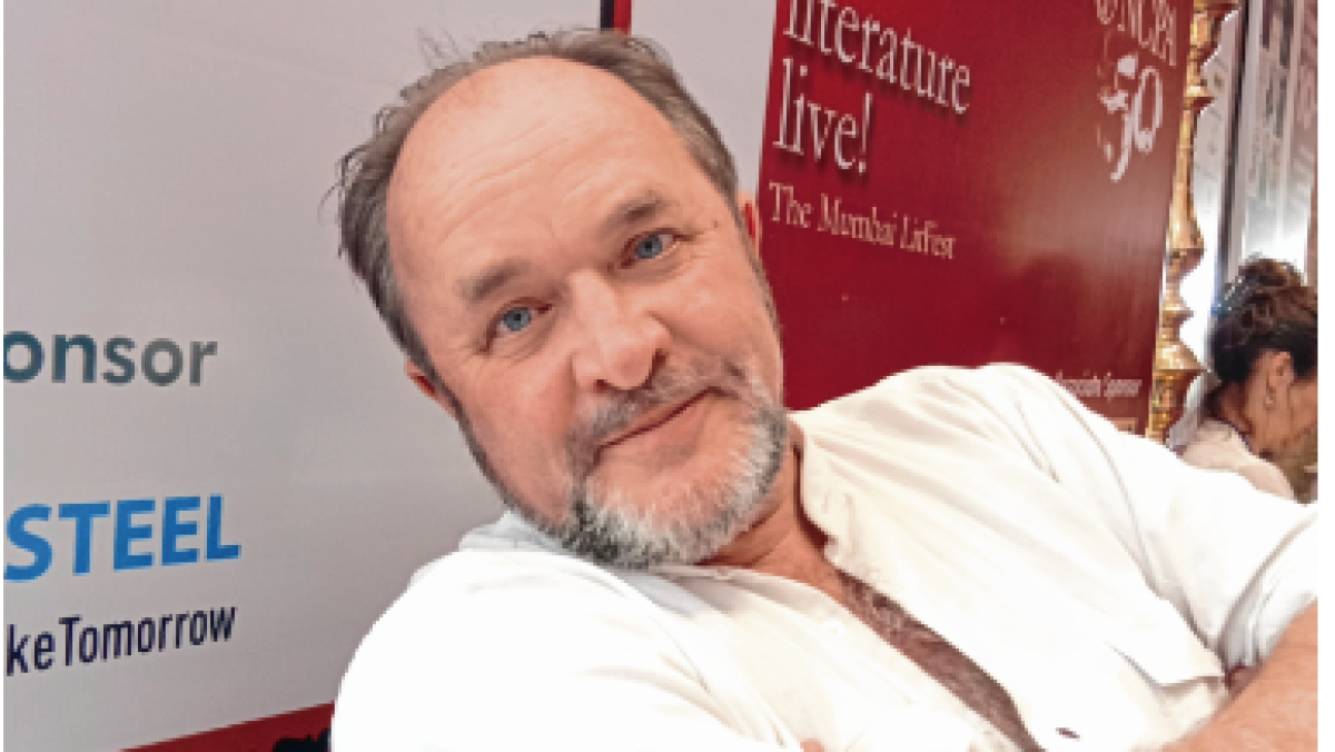 History is the constant of my life, says William Dalrymple