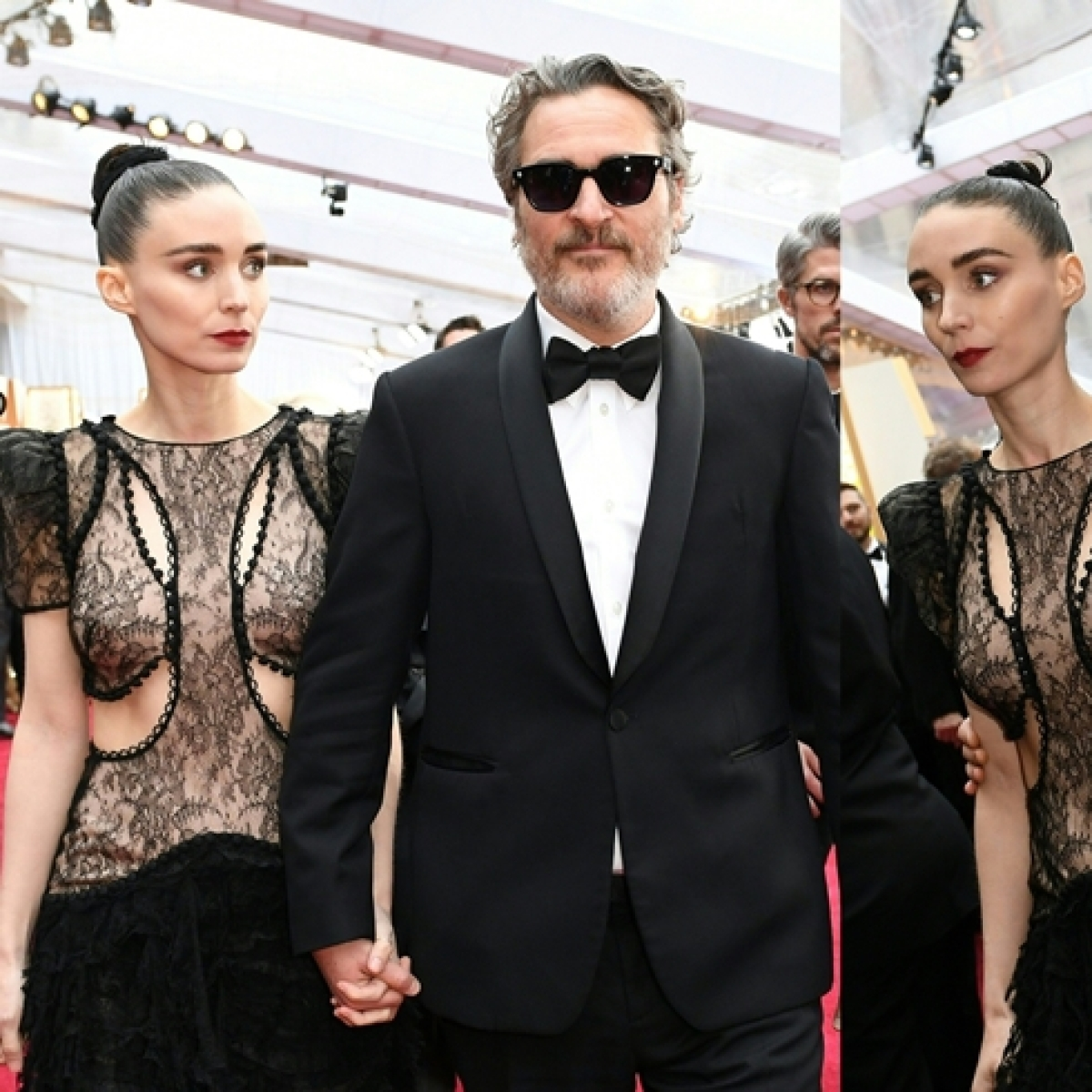 Oscars 2020: Joaquin Phoenix can't get enough of his ladylove Rooney Mara