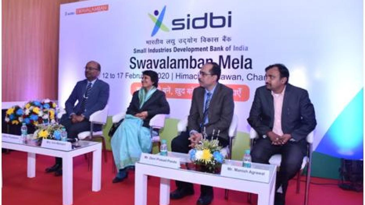 SIDBI organizes Swavalamban Mela in Chandigarh