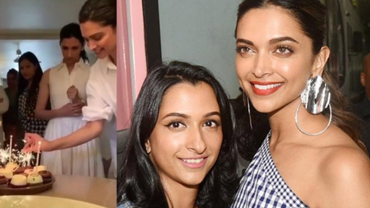 Watch video: Deepika Padukone celebrates sister Anisha's birthday in Bengaluru