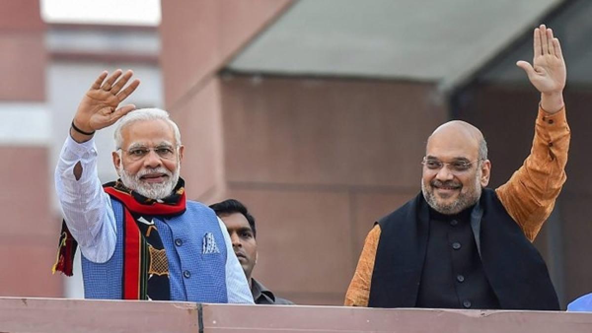 PM Modi, Amit Shah