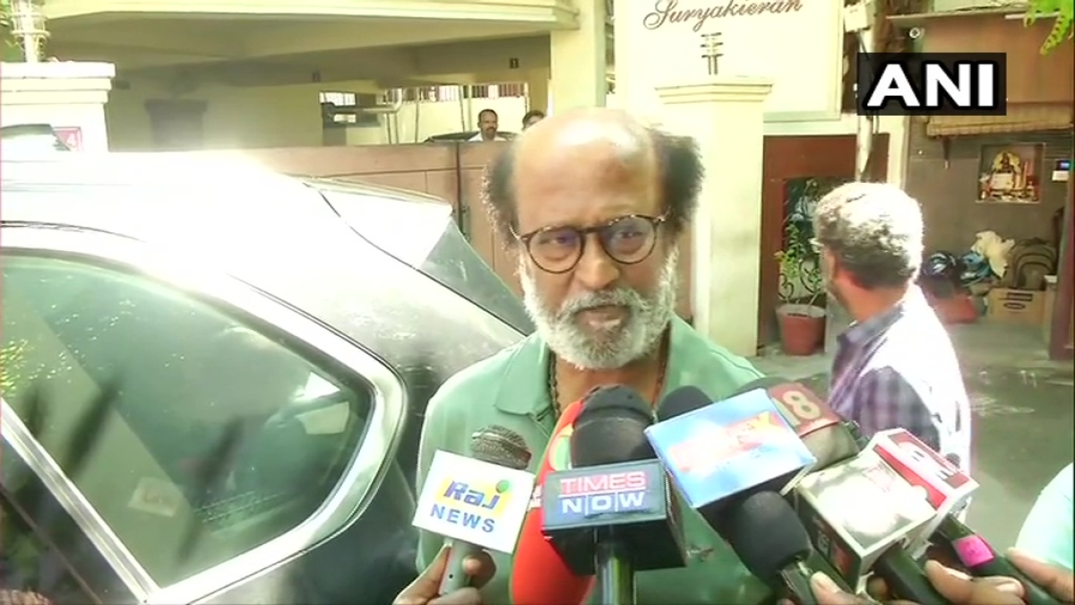 'If CAA affects Muslims, I will be the first person to stand up': Rajinikanth