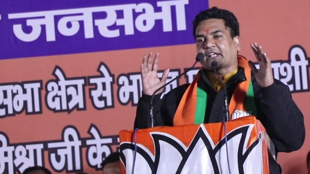 BJP leader Kapil Mishra