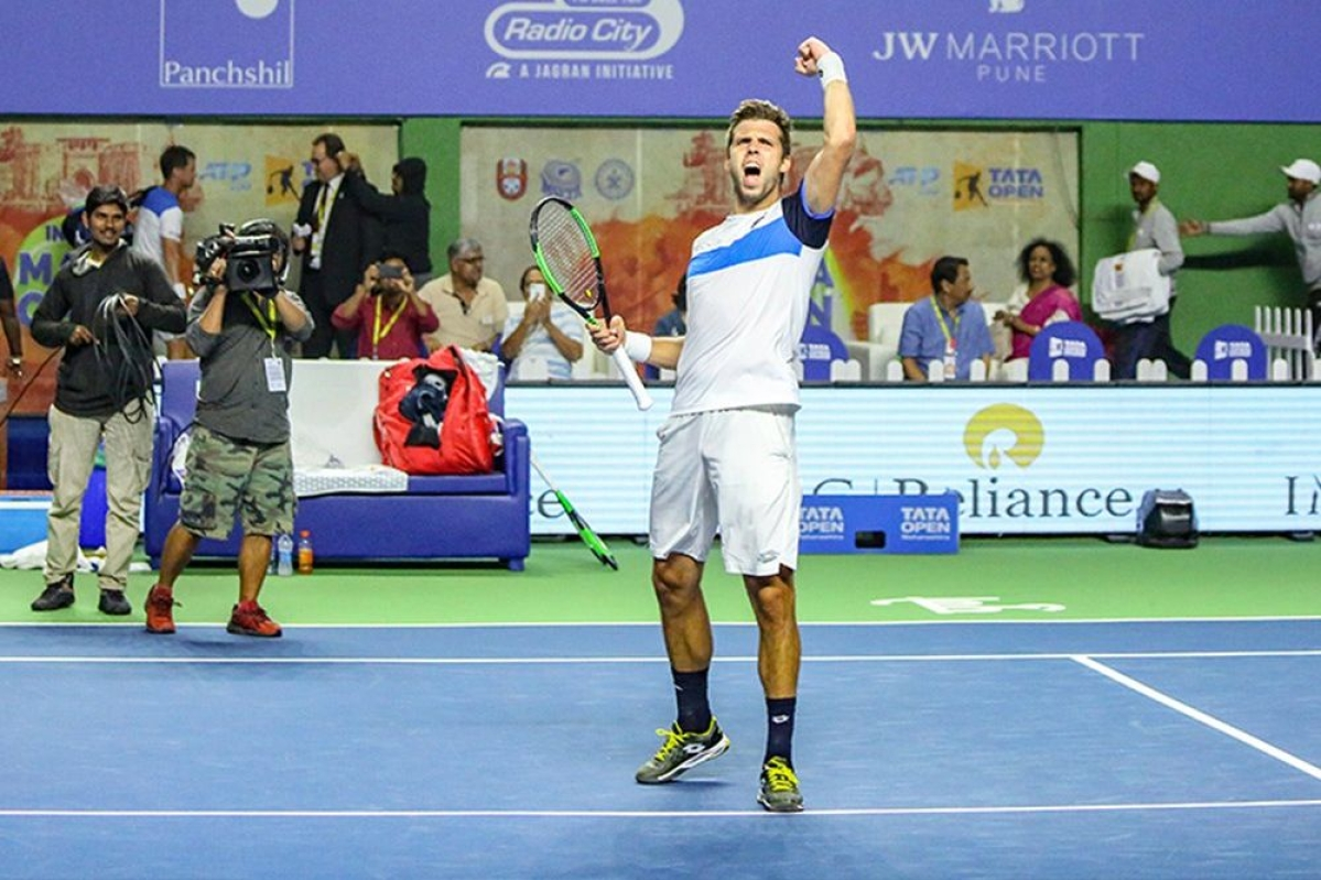 Tata Open Maharashtra: Vesely pulls off stunner to reach finals