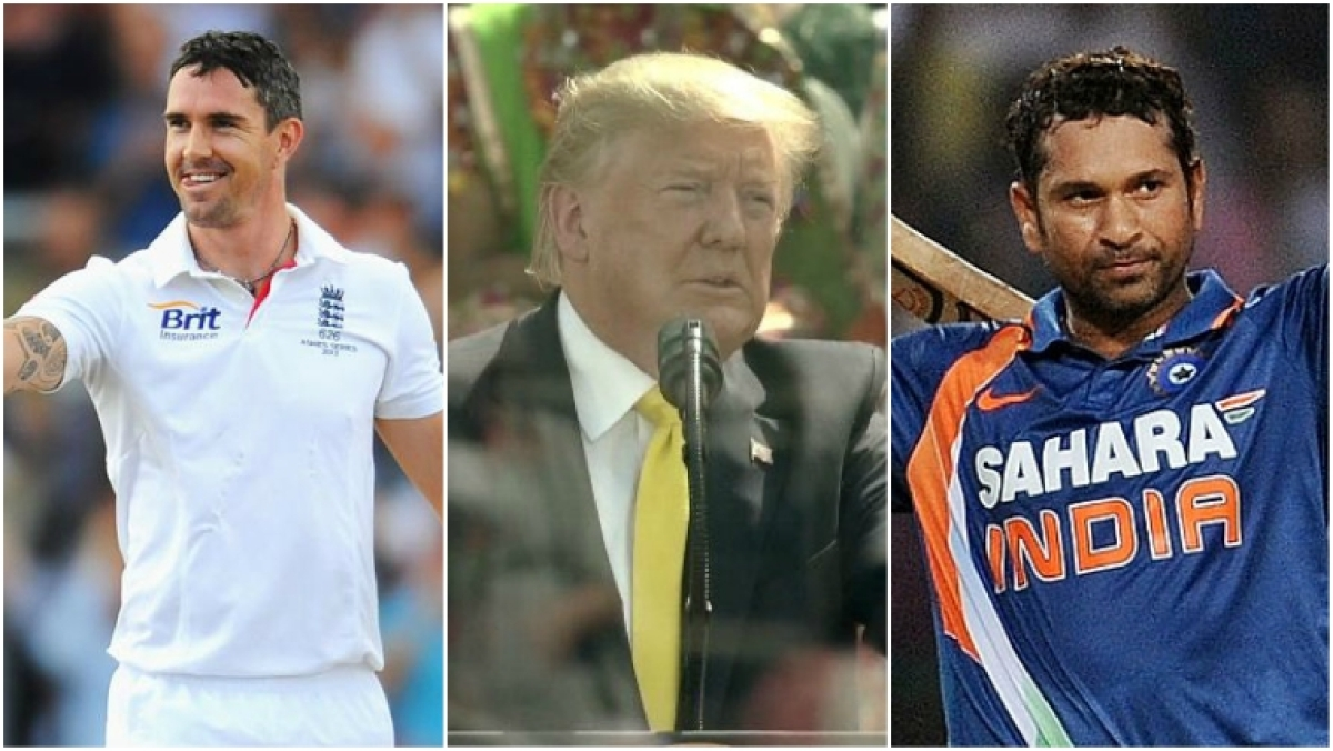 'Do some research': Kevin Pietersen slams Donald Trump after he messes up Sachin Tendulkar's name