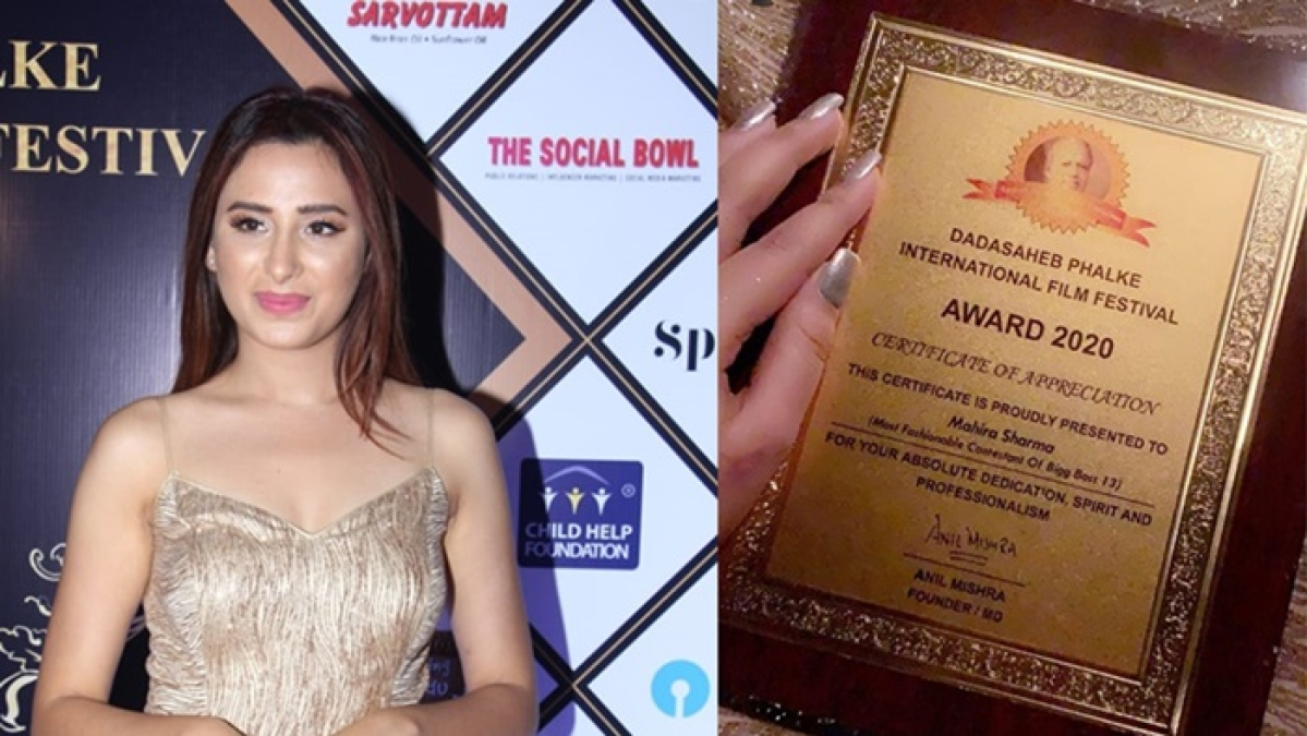 Mahira Sharma accused of forging Dadasaheb Phalke Certificate, organisers send legal notice