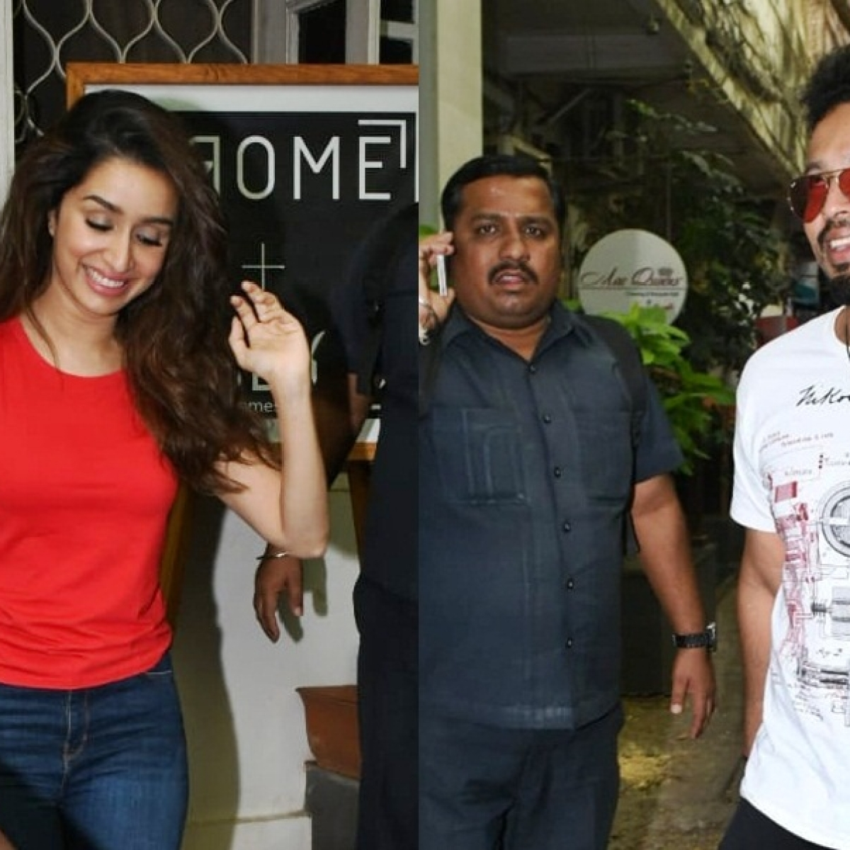 Shraddha Kapoor steps out with rumoured boyfriend Rohan Shrestha; see pics