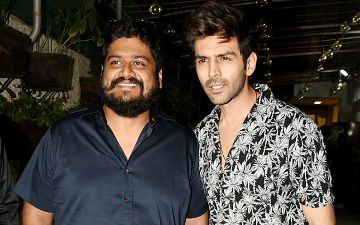 Watch: Kartik Aaryan is literally jumping with joy as he starts prepping for Om Raut's action flick!