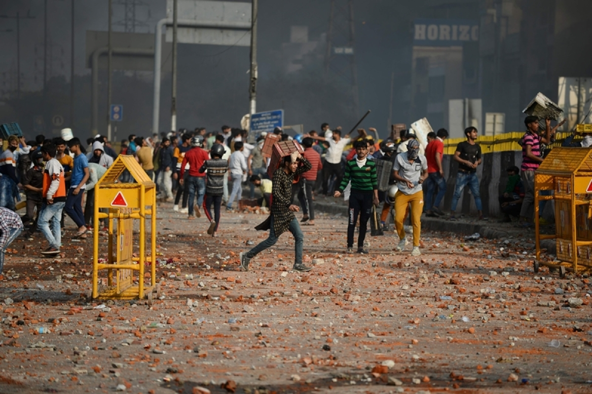 Delhi violence update: Here, each person is armed to teeth