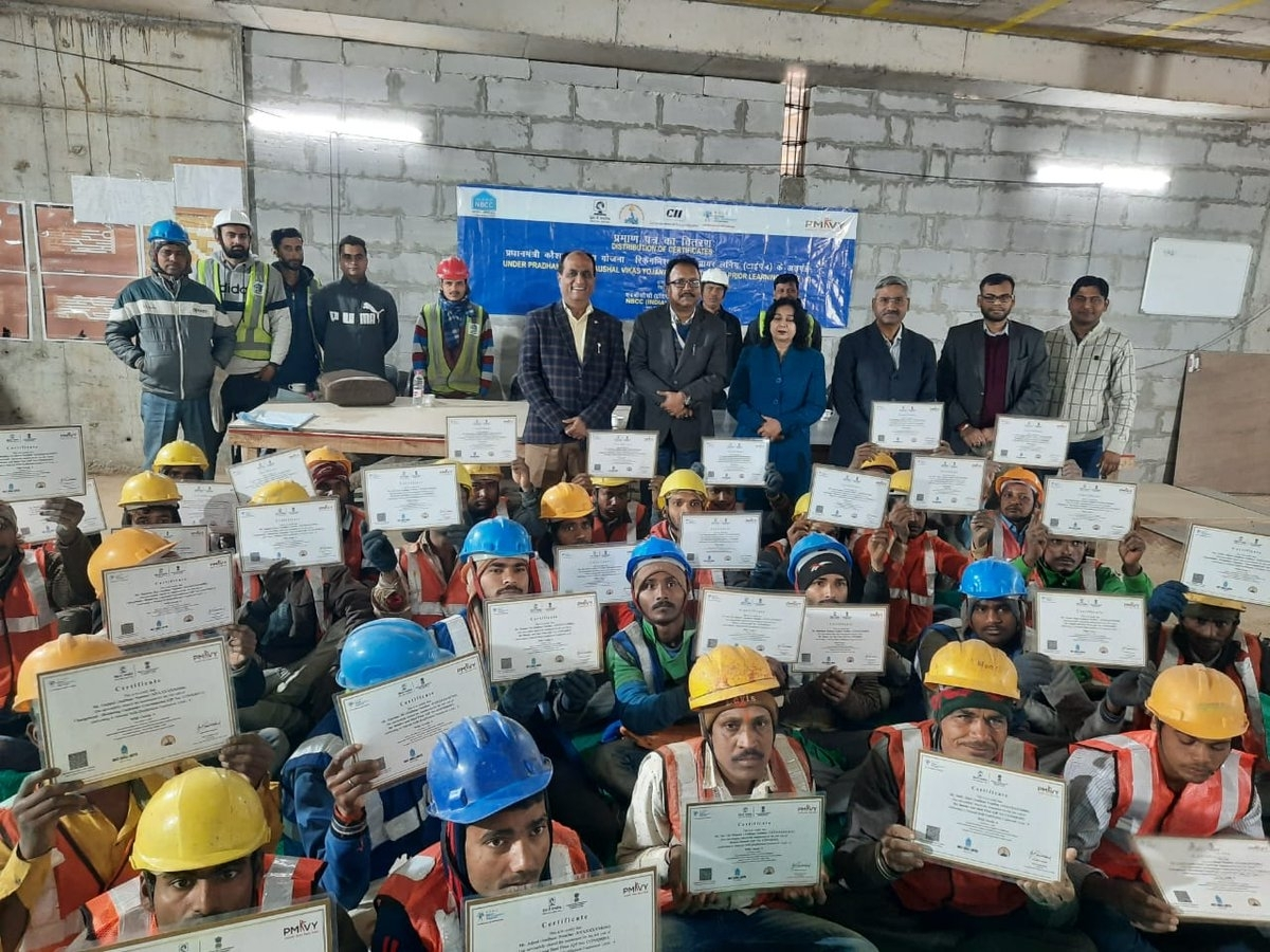 NBCC implements RPL Programme at IIT-Delhi project site