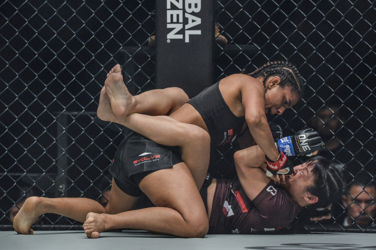 Ritu recently dominated debutant Wu Chiao Chen of China in the One Championship event at Singapore Indoor Stadium