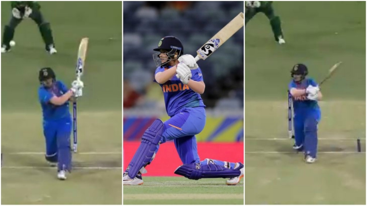 ICC Women's T20 World Cup: Watch how Shafali Verma eviscerated Bangladesh with her boundaries