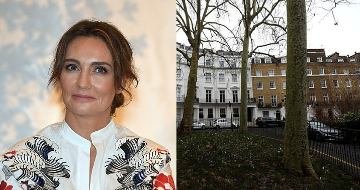 Dominika Kulczyk and her house near Harrods department store in London