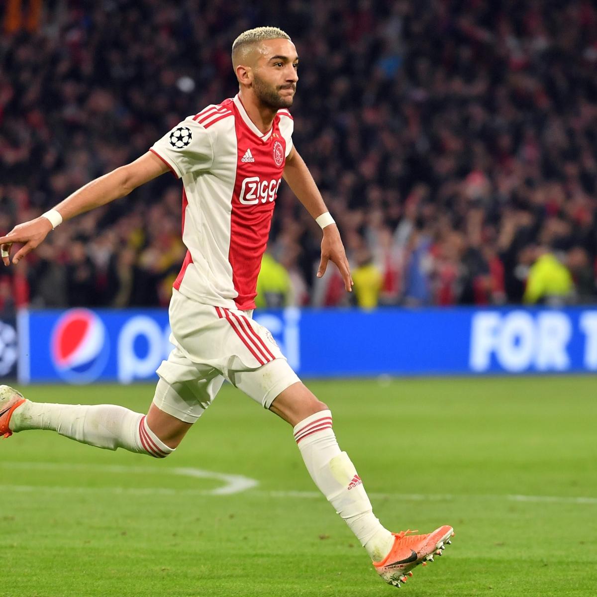 Ajax's Hakim Ziyech completes Chelsea move in 40m-euro deal