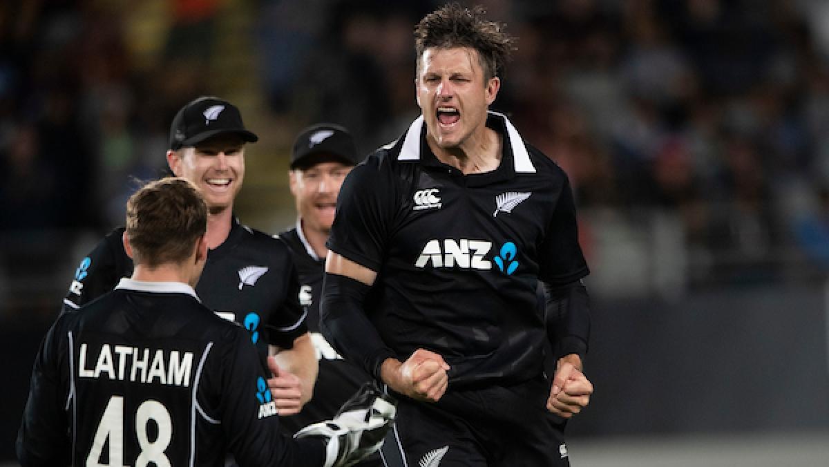 New Zealand win by 22 runs