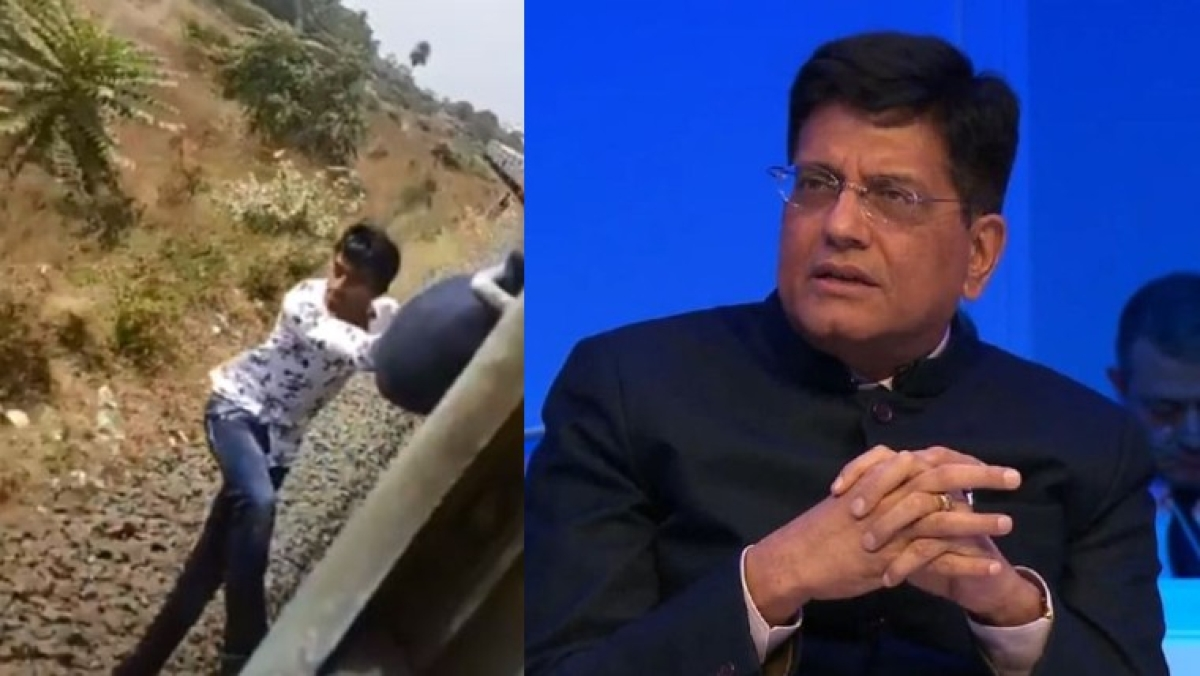 'Your life is precious': Piyush Goyal reacts after TikTok video of man performing stunts on moving train goes viral