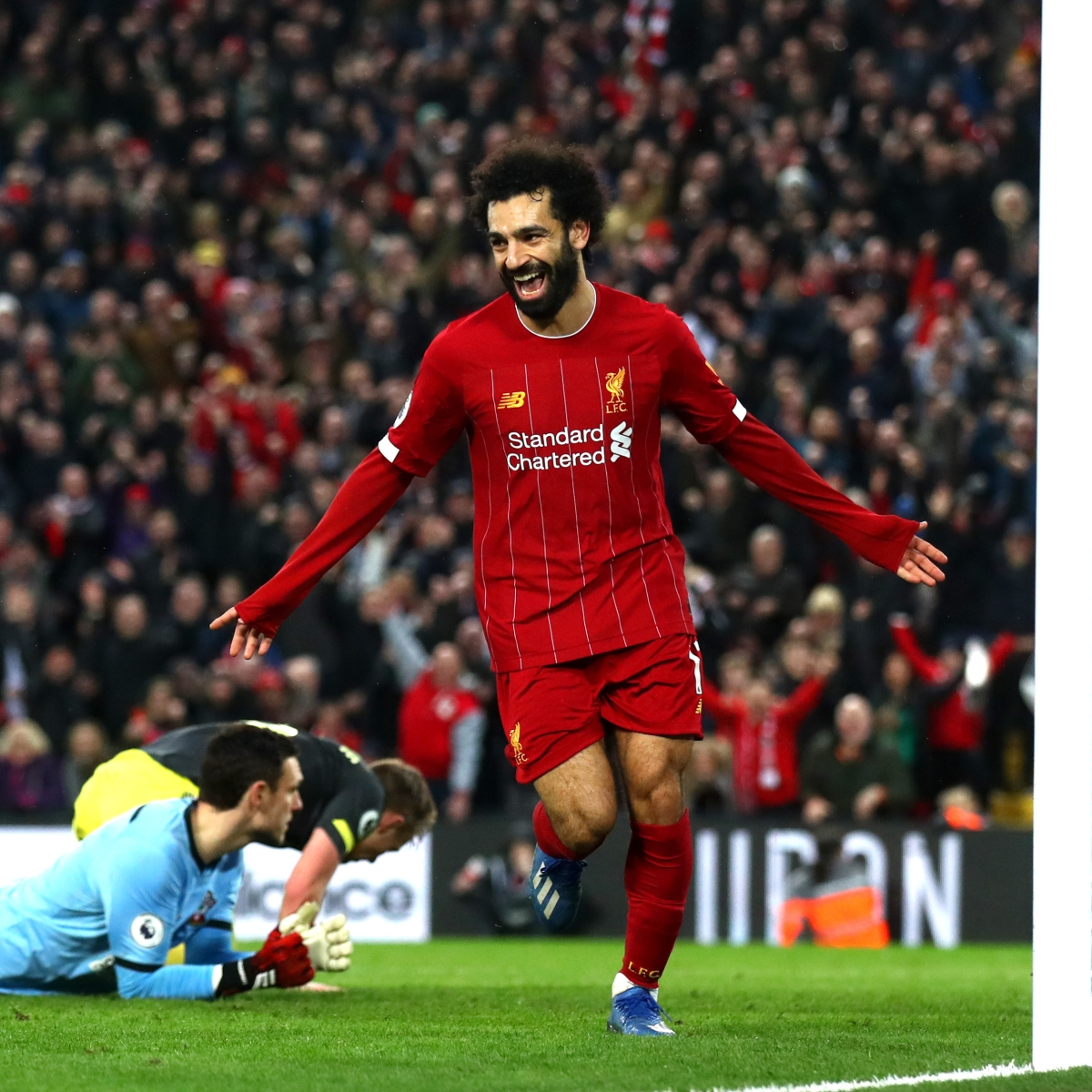 Mohamed Salah overtakes Steven Gerrard to become Liverpool's highest, fastest Champions League goalscorer