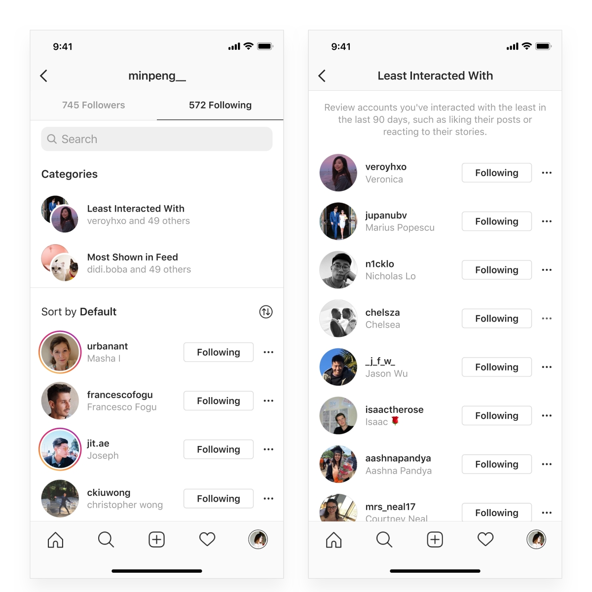 Instagram: Latest update allows you to clean up your follows