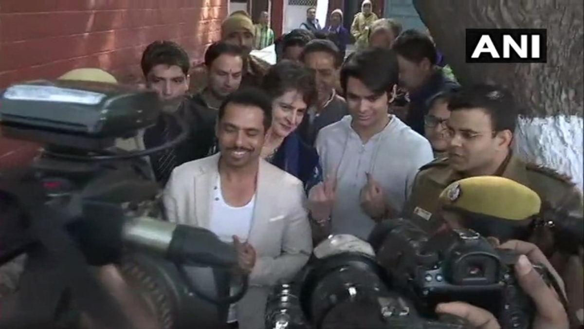 Students should get subsidy in public transport: Priyanka Gandhi Vadra's son after voting for first time in Delhi polls