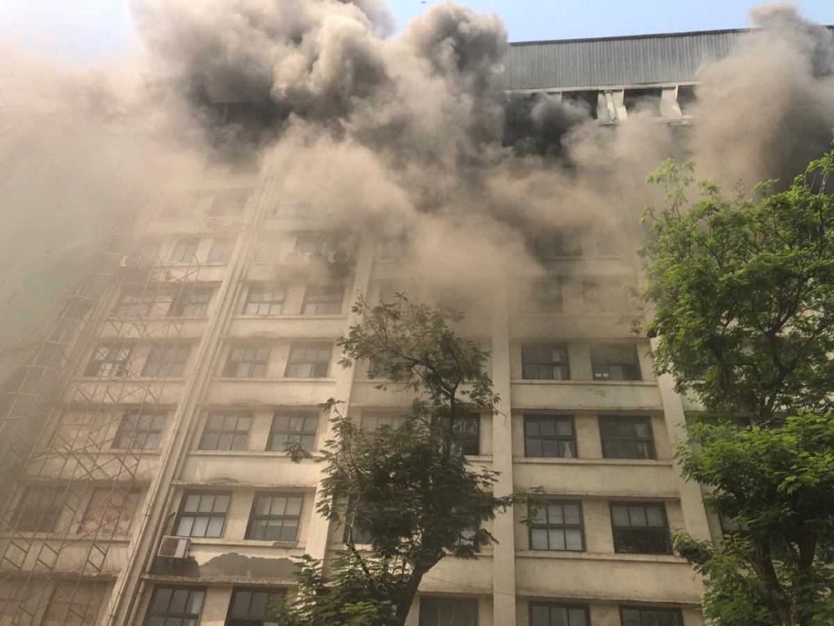 Mumbai Fire Update: Documents lost in GST Bhavan blaze, says BMC Commissioner Praveen Pardeshi