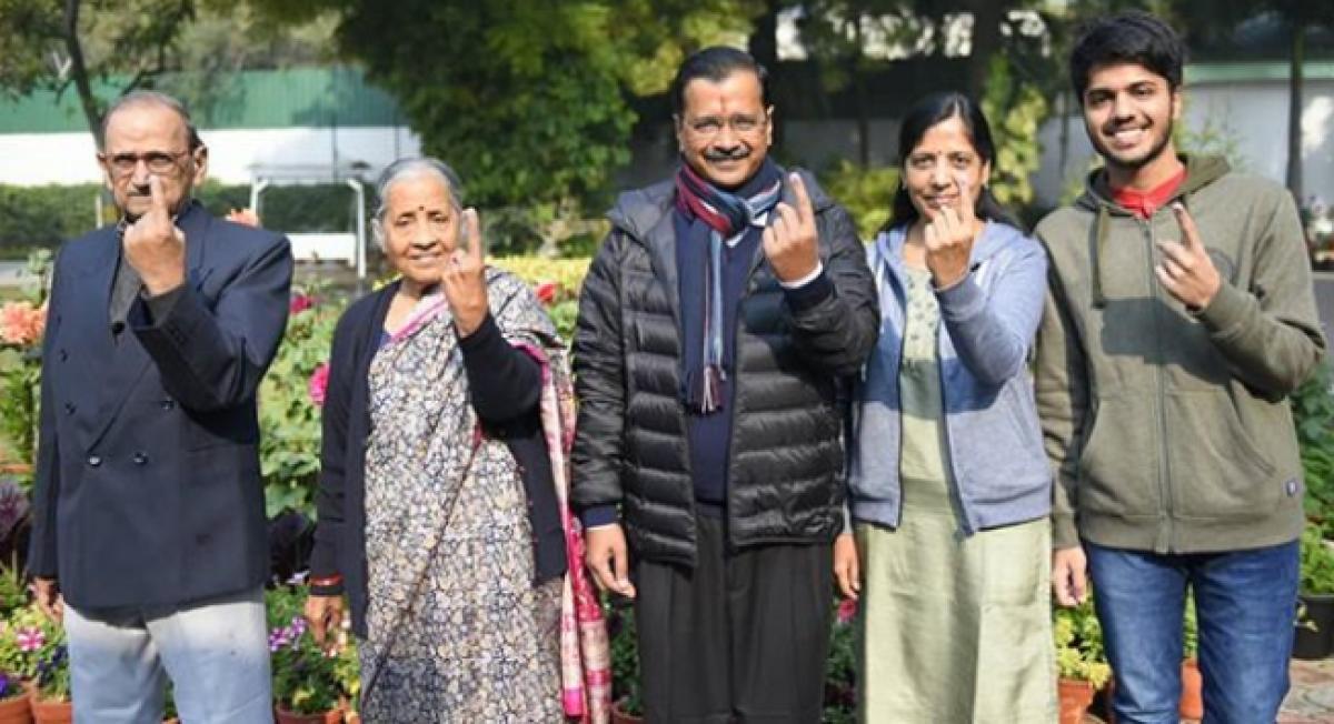 Delhi Elections 2020 results: Sunita Kejriwal considers AAP's victory as best birthday gift