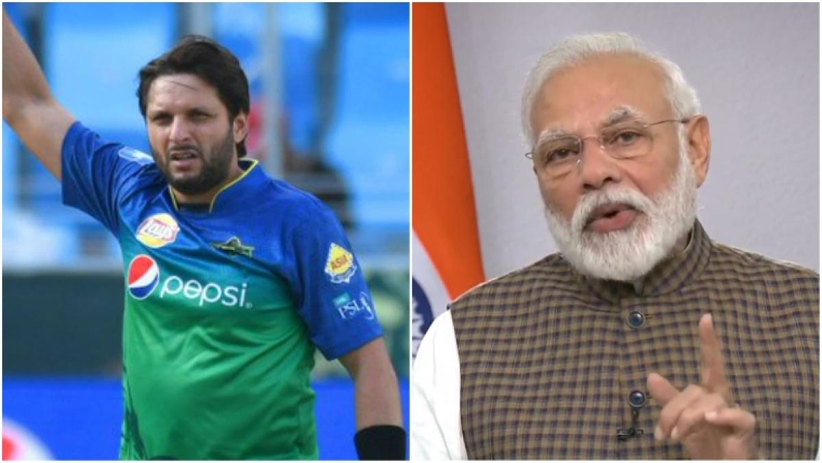 'Indo-Pak relation damaged because of Modi': Shahid Afridi slams PM