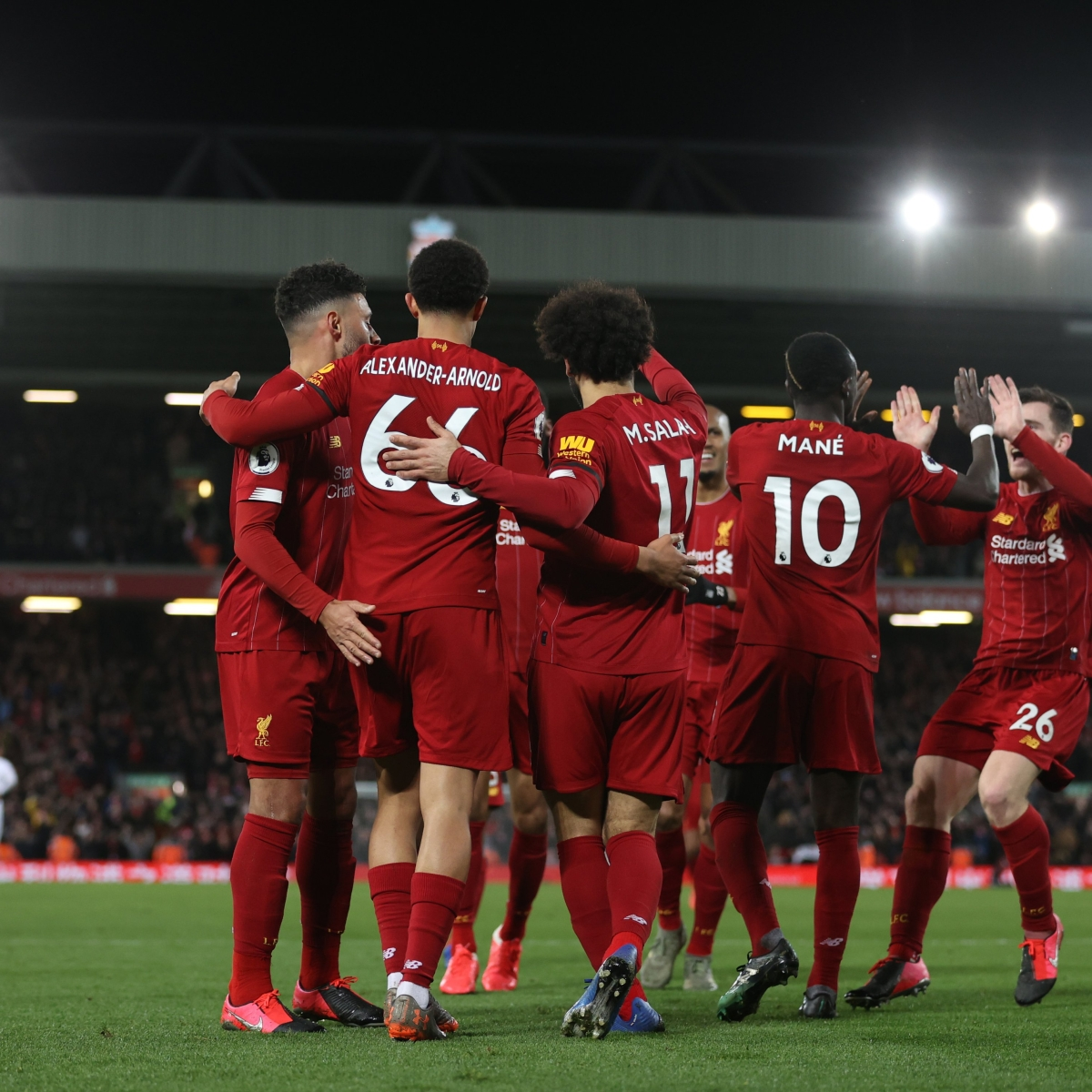 'A dozen points from paradise': Twitter celebrates as Liverpool close in on title win after 29 years
