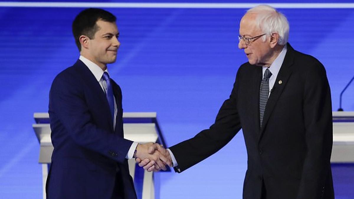 Pete Buttigieg and Sanders under fire on debate stage