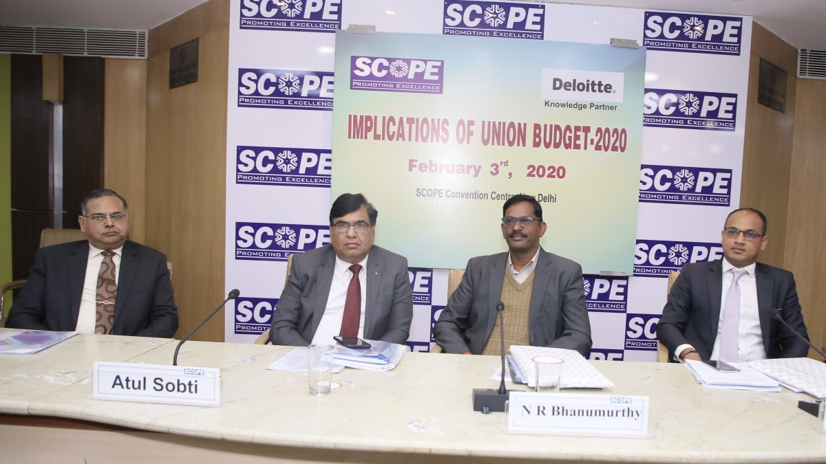Public Sector's role imperative in making Budget 2020 a reality: SCOPE