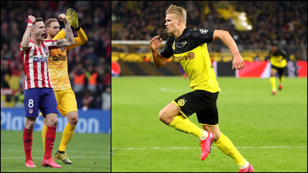 UEFA Champions League: Stubborn Atletico bloody Liverpool's nose, Haaland gives Dortmund advantage over PSG