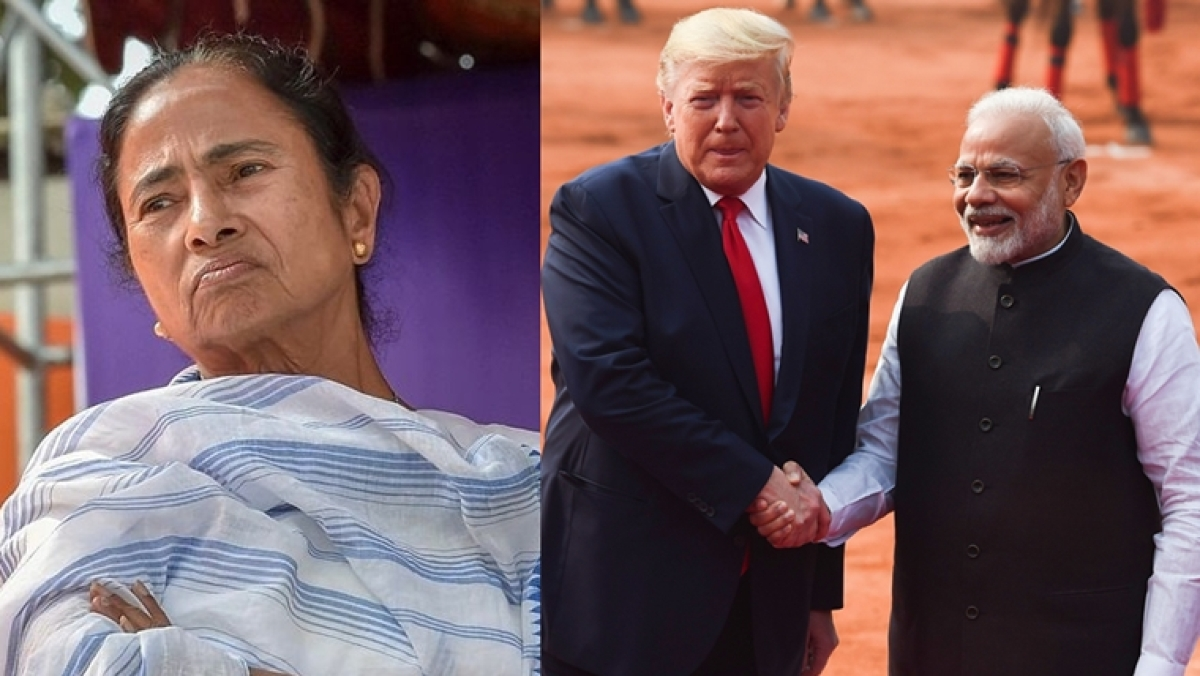 'He came, he spoke, he left...my motherland kept burning': Mamata Banerjee writes on Delhi violence and Trump's visit