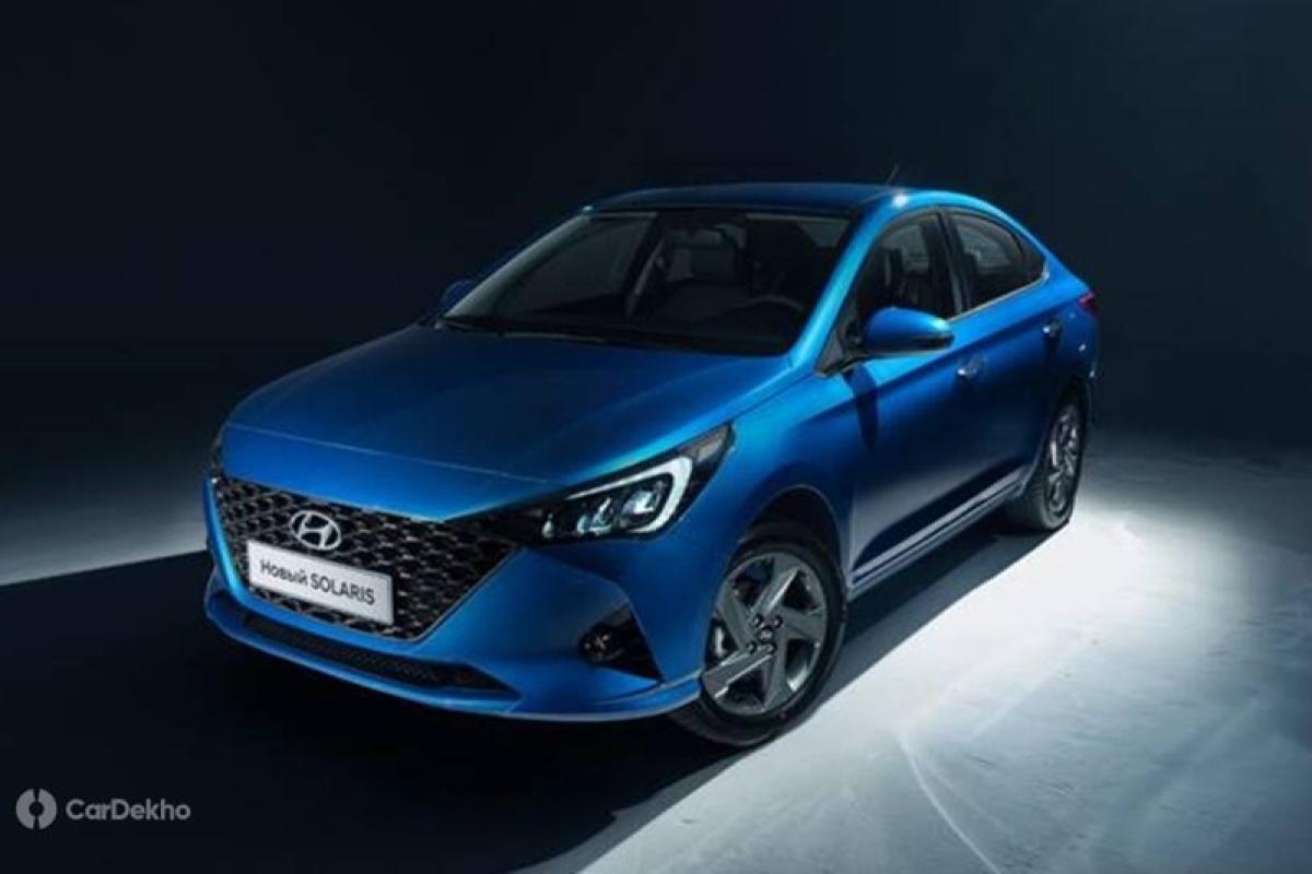 India-bound Hyundai Verna Facelift Revealed; Launch Soon