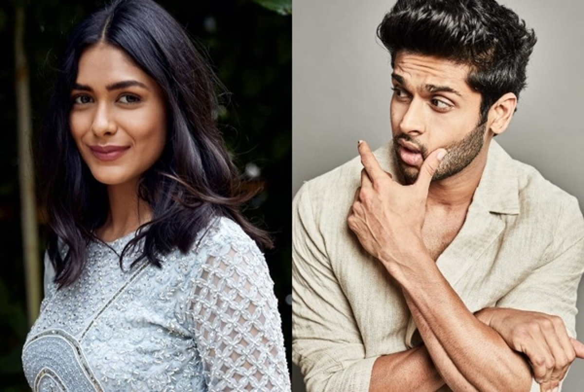 Abhimanyu, Mrunal Thakur get together for family entertainer 'Aankh Micholi'