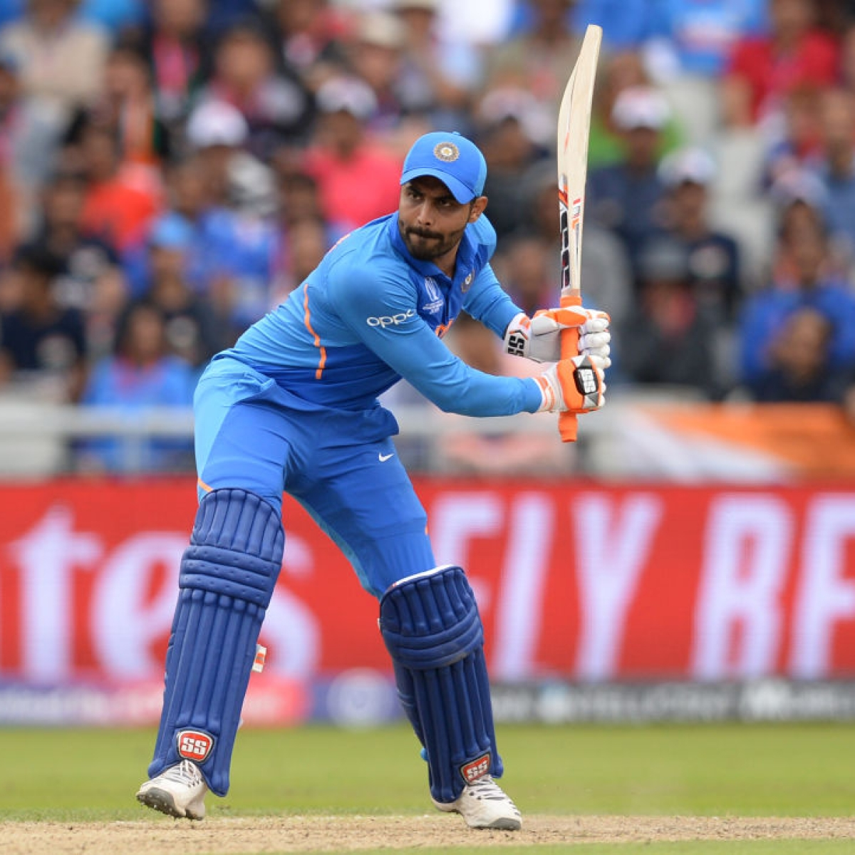 Despite Jadeja's herculean effort, India falls short of Kiwis' total by 22 runs