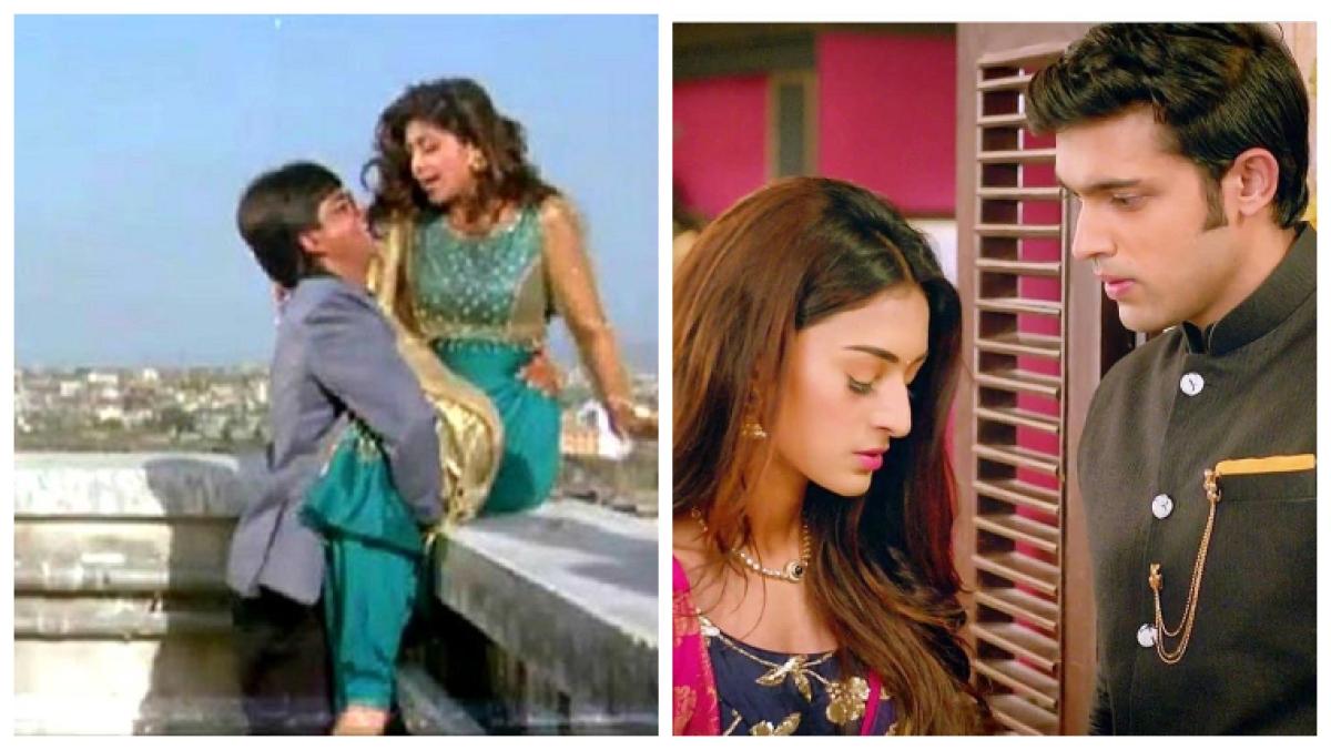 Baazigar 2.0: Kasauti Zindagii Kay recreates Shah Rukh Khan and Shilpa Shetty's iconic terrace scene
