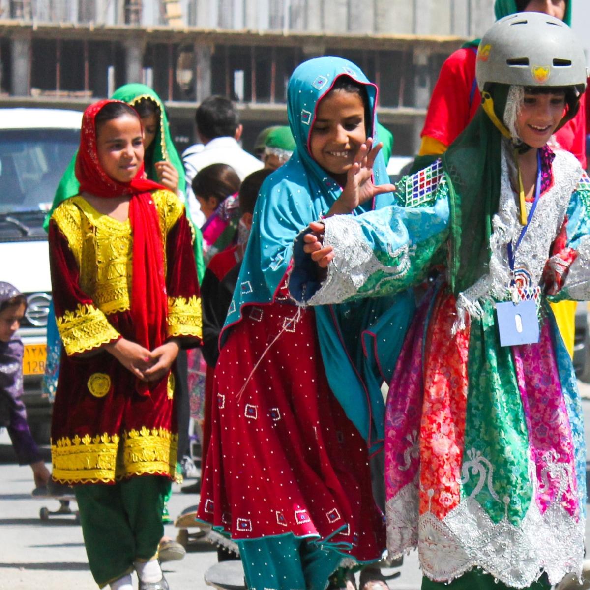 Afghans celebrate Skateistan victory