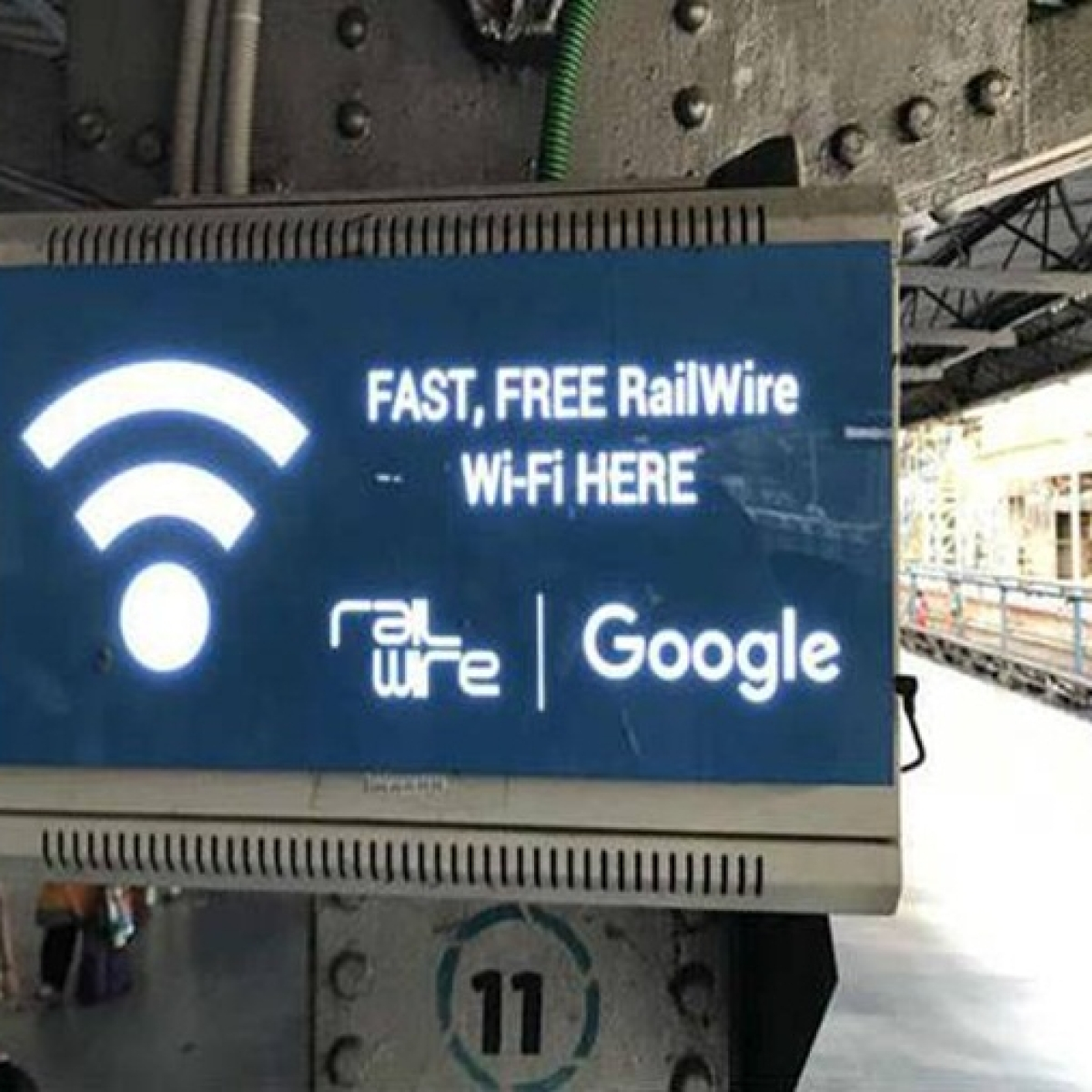 Free WiFi at 415 stations to continue even after contract with Google ends: RailTel
