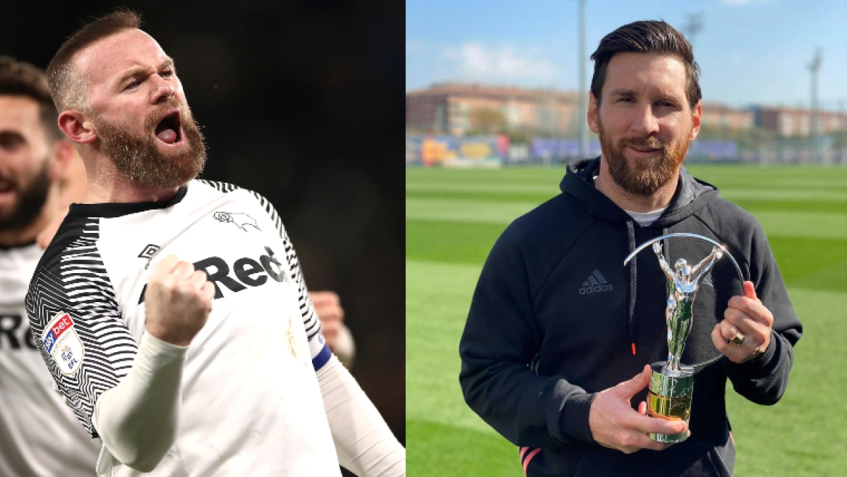 From Rooney to Messi: Five footballers with the most gorgeous beards
