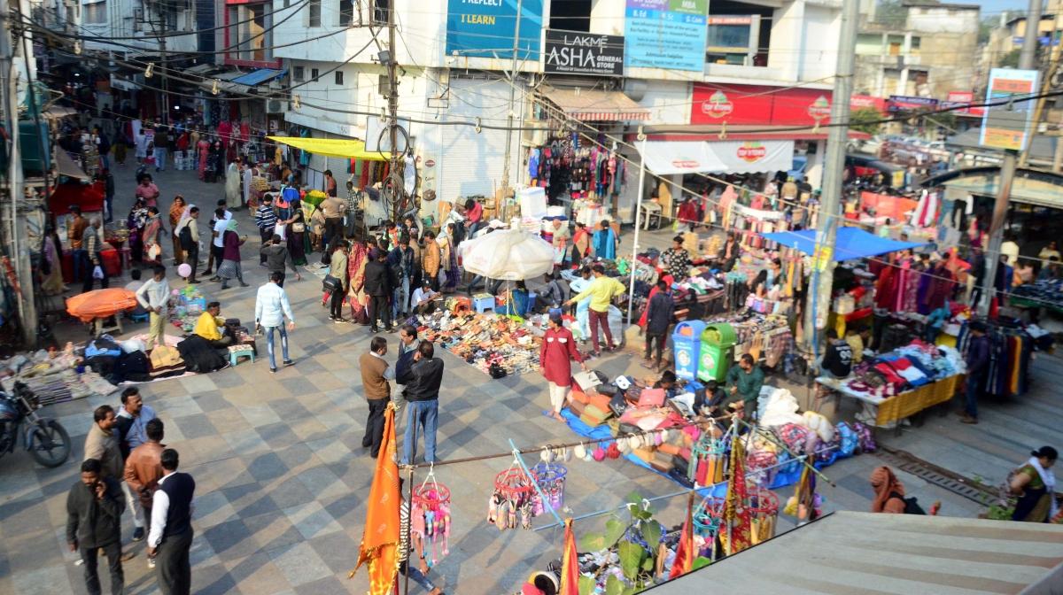 New Market in Bhopal