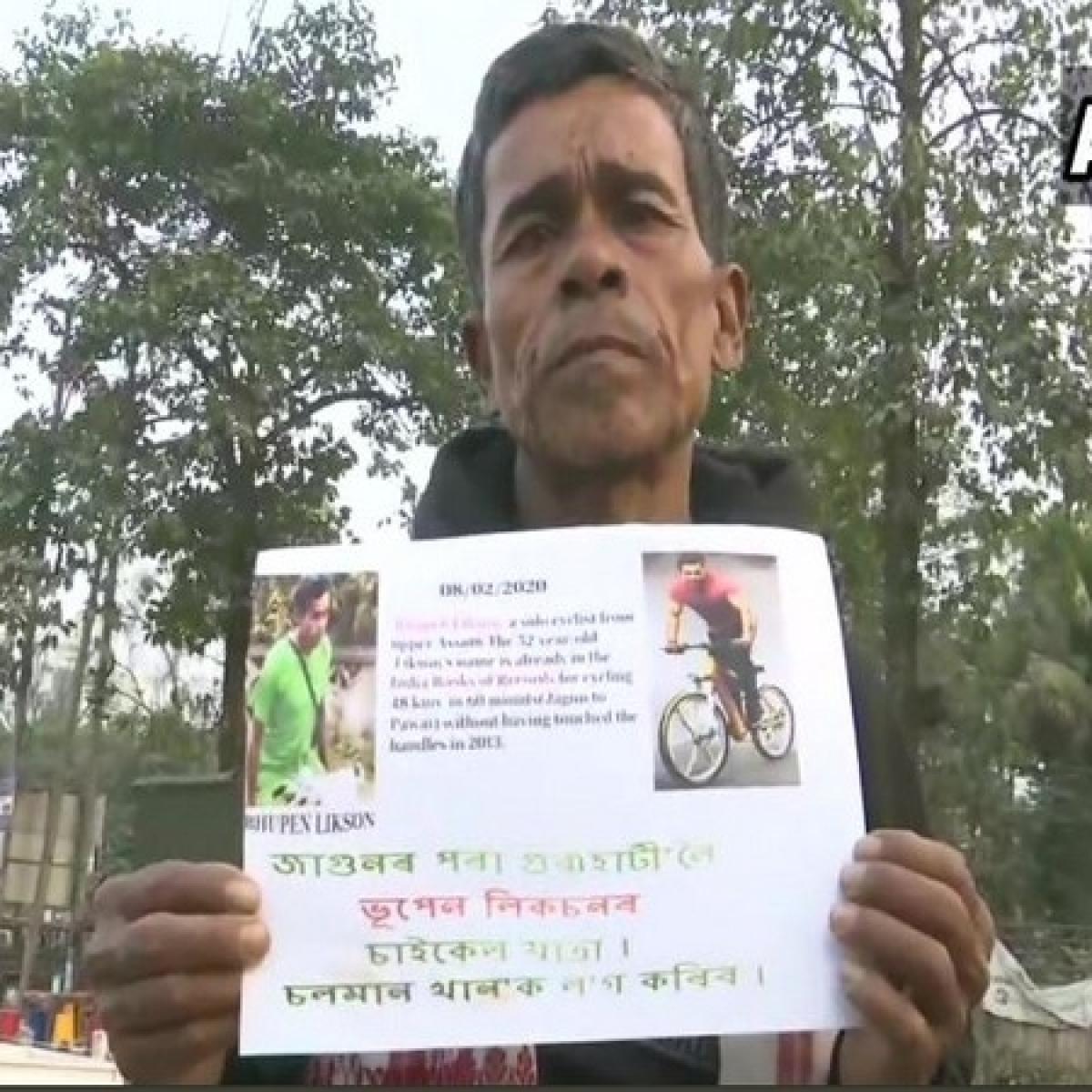 Assam man travels 600 km on cycle to meet Salman Khan!
