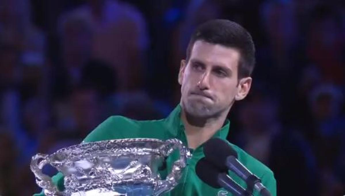 Australian Open 2020: After victory, Novak Djokovic pays tribute to bushfire casualties, Kobe Bryant
