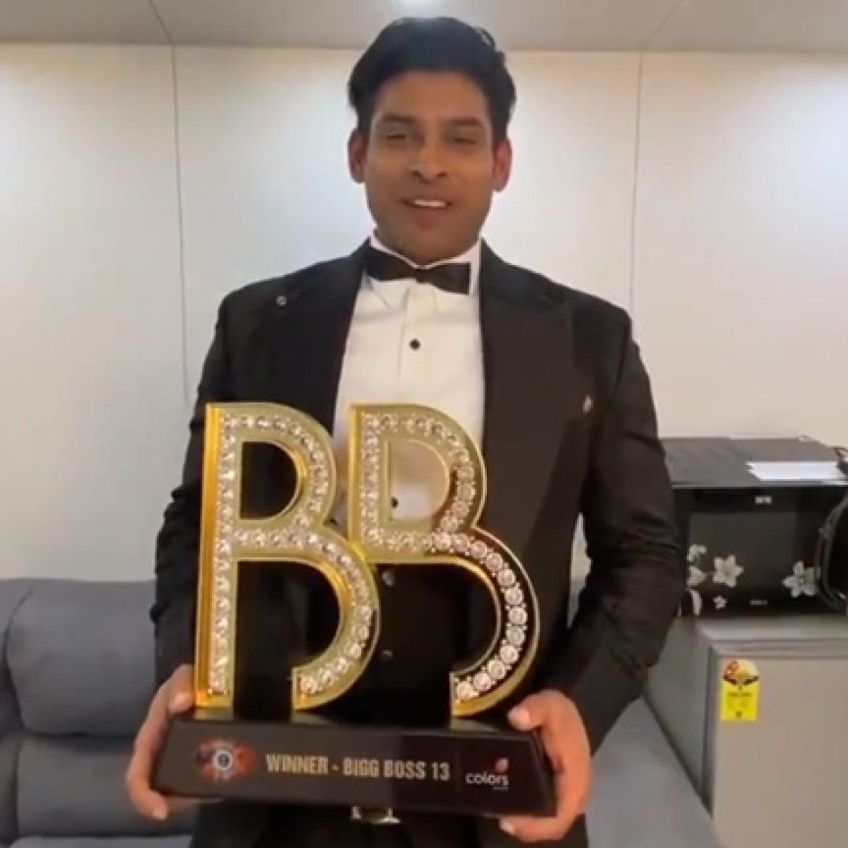 Sidharth Shukla wins 'Bigg Boss 13', defeats Asim Riaz
