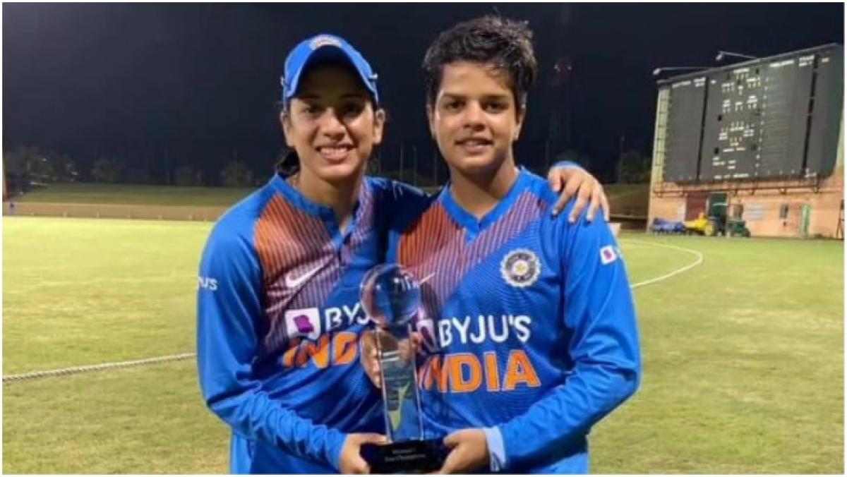 'So easy to bat alongside her': Smriti Mandhana reserves high praise for 16-year-old Shafali Verma