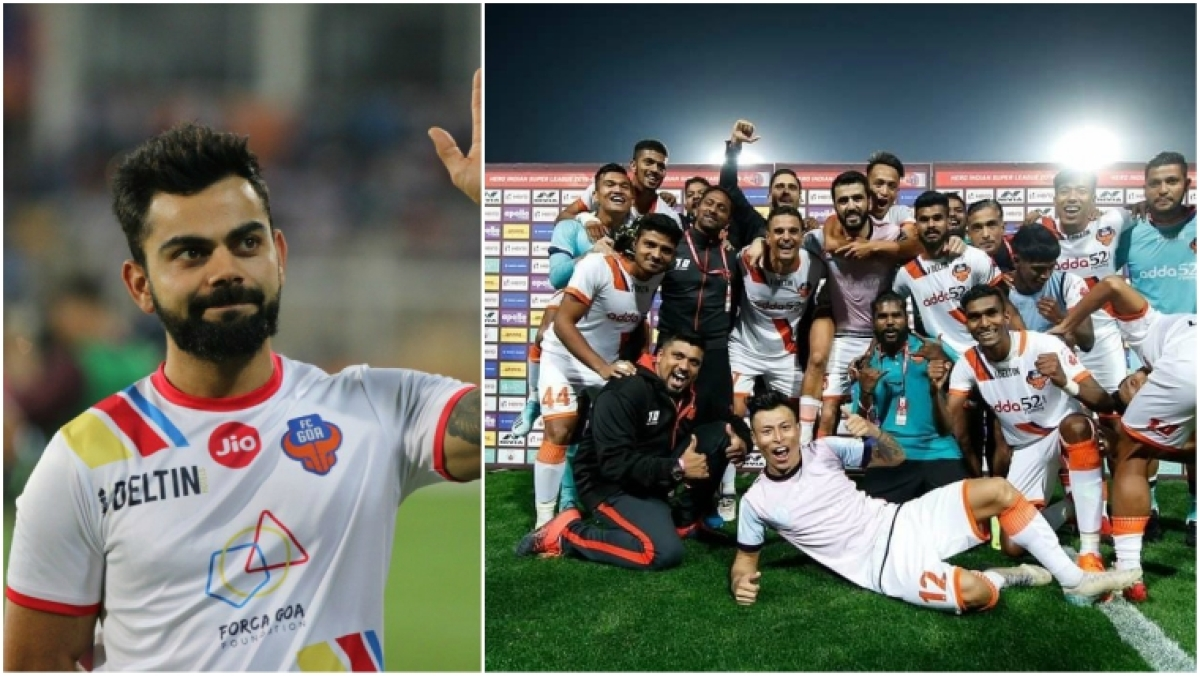 Owner Virat Kohli hails FC Goa for feat that RCB failed to achieve - topping the table!