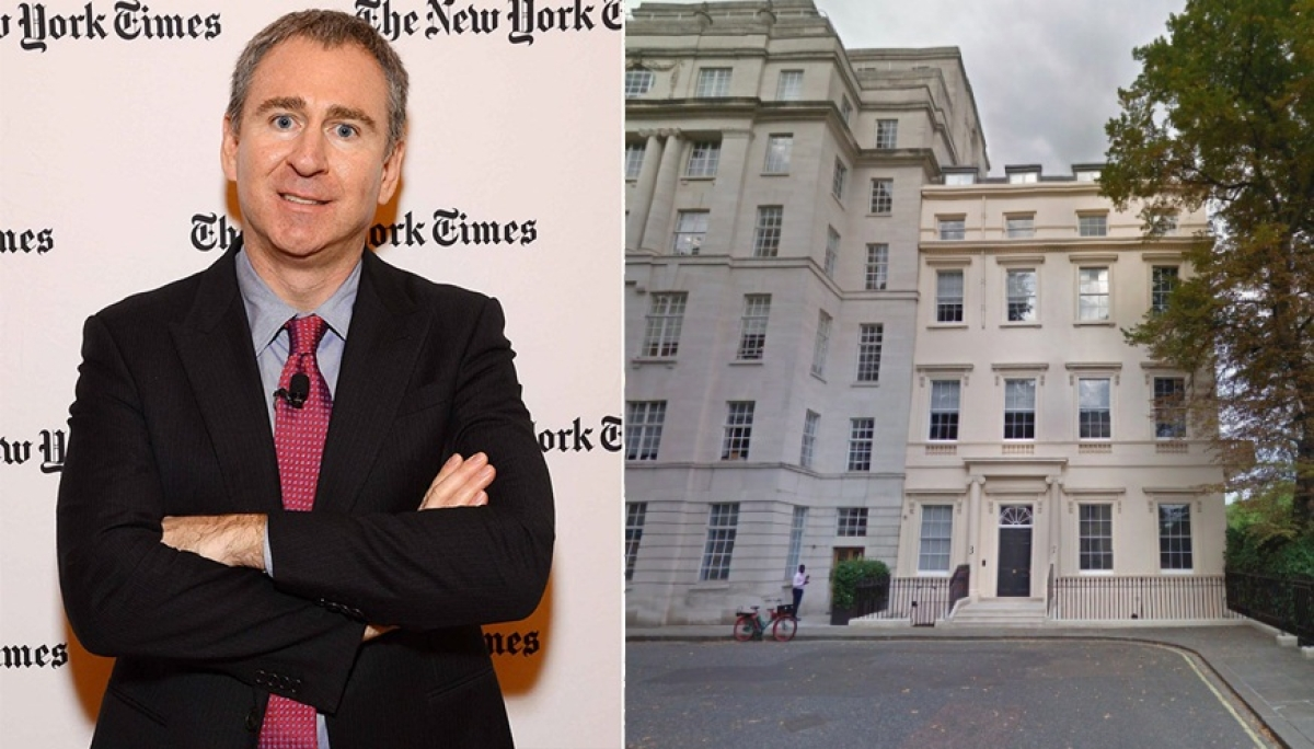 Ken Griffin and his residence in London