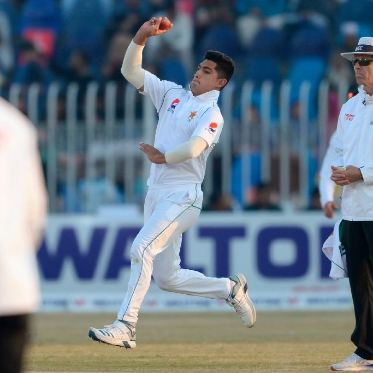 Pakistan's Naseem Shah becomes youngest player to grab a Test hat-trick