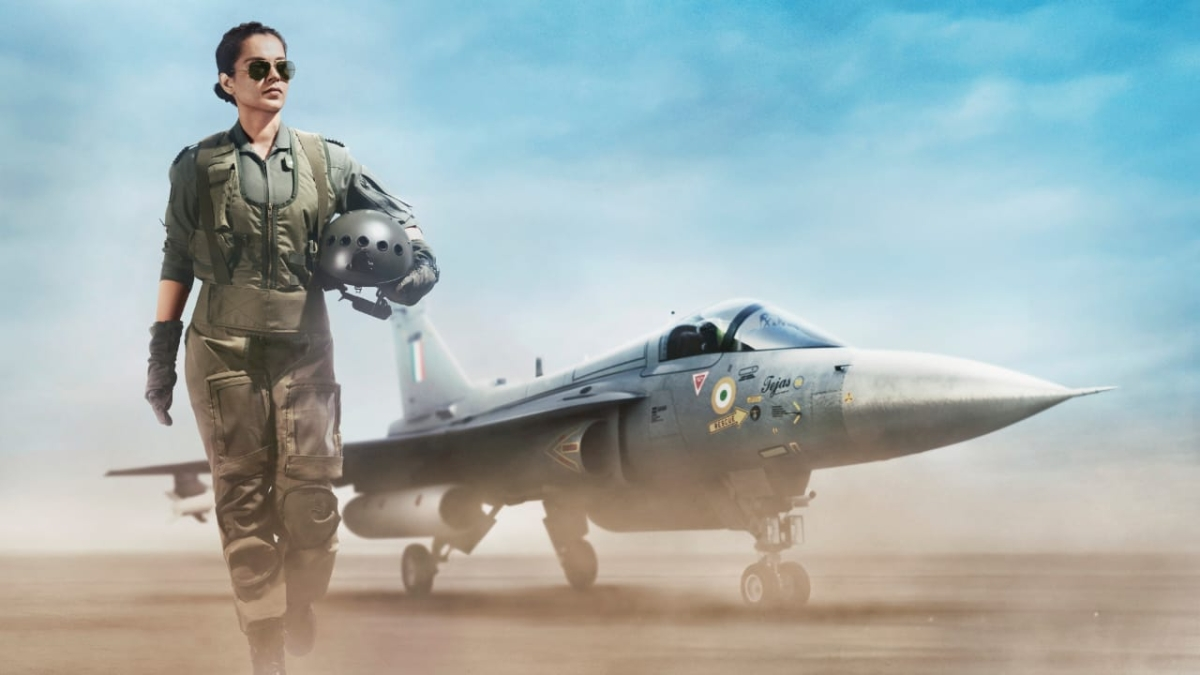 Tejas First Look: Kangana Ranaut looks commanding and stunning as an air force pilot