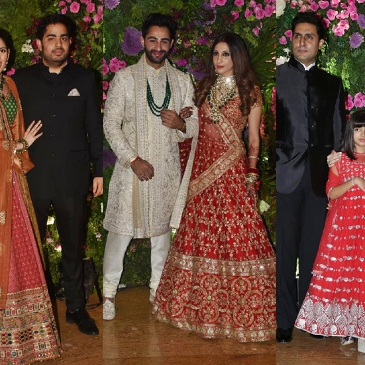In Pics: From Ambanis to Bachchans, stars unite at Armaan Jain's big fat Punjabi wedding